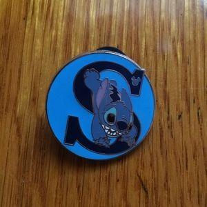 Stitch Disney Hidden Mickey Pin